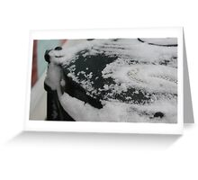 Freezing the bin collections. Greeting Card