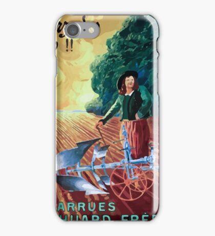 Leonetto Cappiello Affiche Charrue Huard iPhone Case/Skin