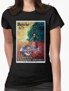 Leonetto Cappiello Affiche Charrue Huard Womens Fitted T-Shirt