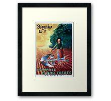 Leonetto Cappiello Affiche Charrue Huard Framed Print