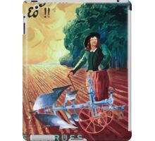 Leonetto Cappiello Affiche Charrue Huard iPad Case/Skin