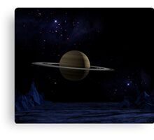 A Blessed Isolated Corner of the Universe Canvas Print