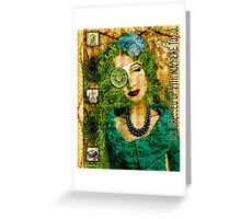 All Dressed Up Greeting Card