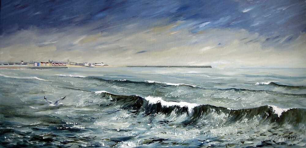 Hartlepool Headland by Sue Nichol