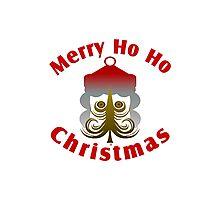 Merry Ho Ho Christmas Photographic Print