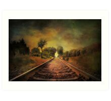 Shadows of the past........ Art Print