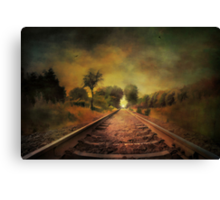 Shadows of the past........ Canvas Print