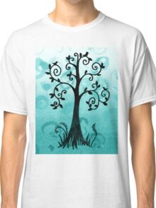 Whimsical Tree With Birds Classic T-Shirt