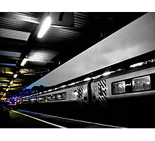 The Train to Colour Photographic Print