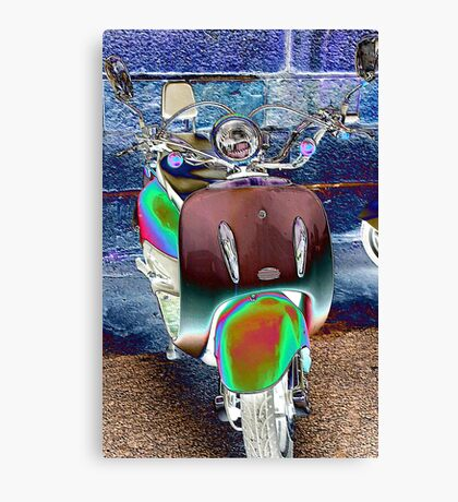 Scooty... Canvas Print