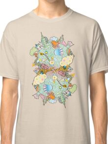 Puffer Puffing On A Water Pipe Classic T-Shirt