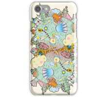 Puffer Puffing On A Water Pipe iPhone Case/Skin