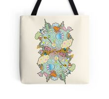 Puffer Puffing On A Water Pipe Tote Bag