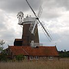 Windmill,  Norfolk  by unclebuck