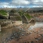 Rock Pool and Groyne by John Hare