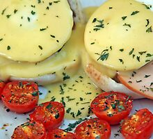 Eggs Benedict by Leon Heyns