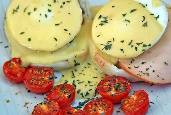 Eggs Benedict by Leon Heyns