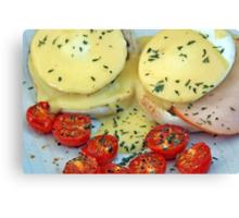 Eggs Benedict Canvas Print
