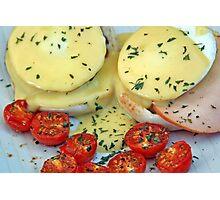 Eggs Benedict Photographic Print