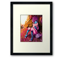 Is there LIFE in OUTER SPACE? Framed Print