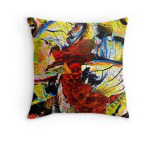 Cauliflower In Full Color Throw Pillow