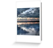 Lonely, Crosby Beach Greeting Card