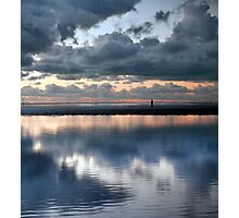 Lonely, Crosby Beach Photographic Print
