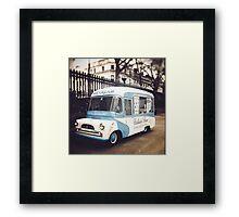 ice-cream  Framed Print