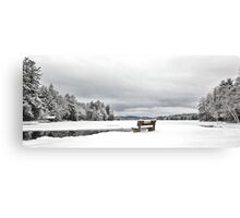 Open Water - Highland Lake Canvas Print