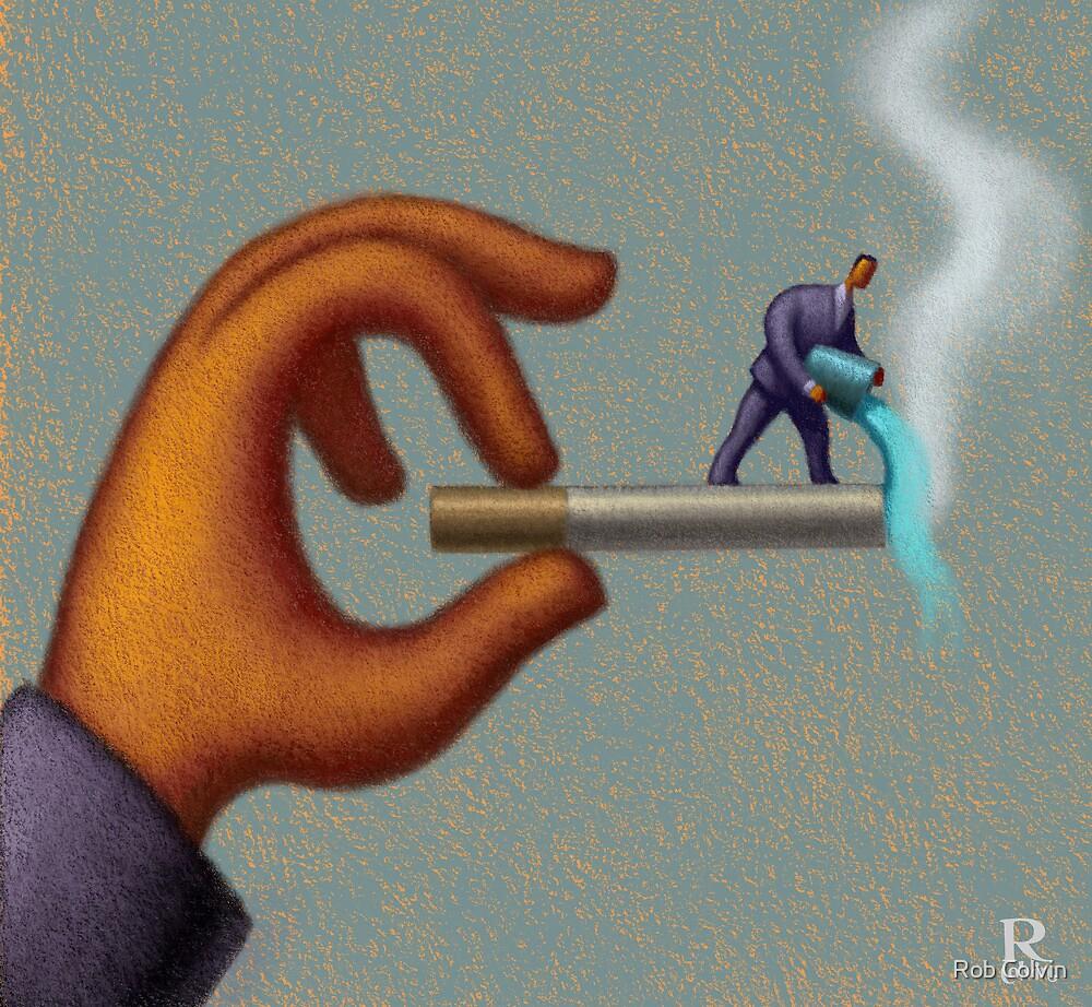 No Smoking by Rob Colvin