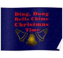 Ding Dong Christmas Time Poster