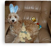 Happy Easter From Buddy Canvas Print