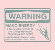 Warning: Mako Energy One Piece - Short Sleeve