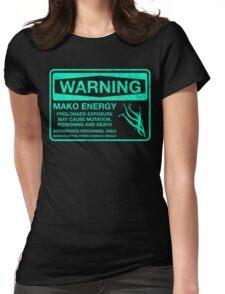 Warning: Mako Energy Womens Fitted T-Shirt