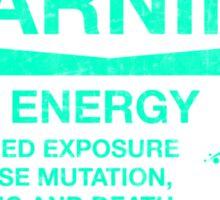 Warning: Mako Energy Sticker