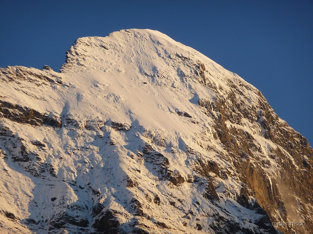 Top of the Eiger by mjdennison