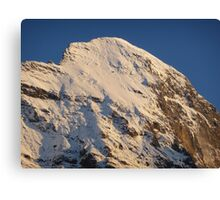 Top of the Eiger Canvas Print