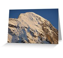 Top of the Eiger Greeting Card