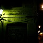 Street lights of Barcelona by contradirony
