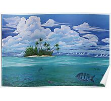 lonely tropica Poster