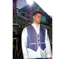 The Flax Mill...A Waistcoat and Shirt Photographic Print
