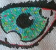 Spotted Eye Sticker