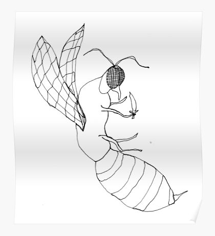 killer bee Poster
