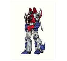 Starscream Art Print
