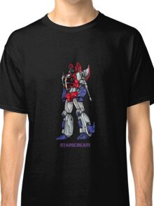 Starscream With Title Classic T-Shirt