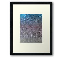 It's a song about love between my brothers and my sisters, all over the this land Framed Print