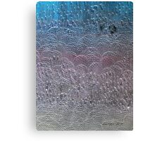 It's a song about love between my brothers and my sisters, all over the this land Canvas Print