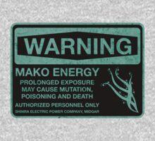 Sticker! Warning: Mako Energy One Piece - Long Sleeve