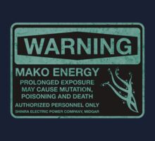 Sticker! Warning: Mako Energy Baby Tee