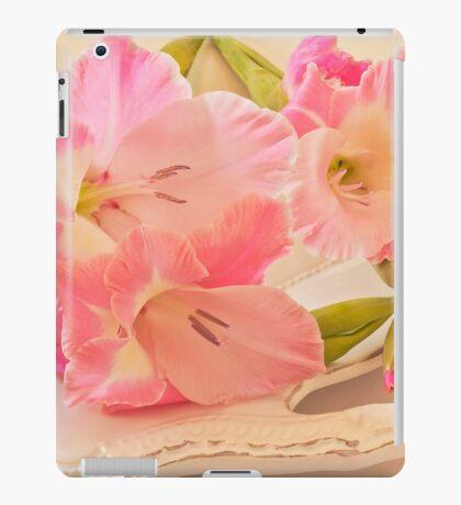 Gladiolas In Pink iPad Case/Skin